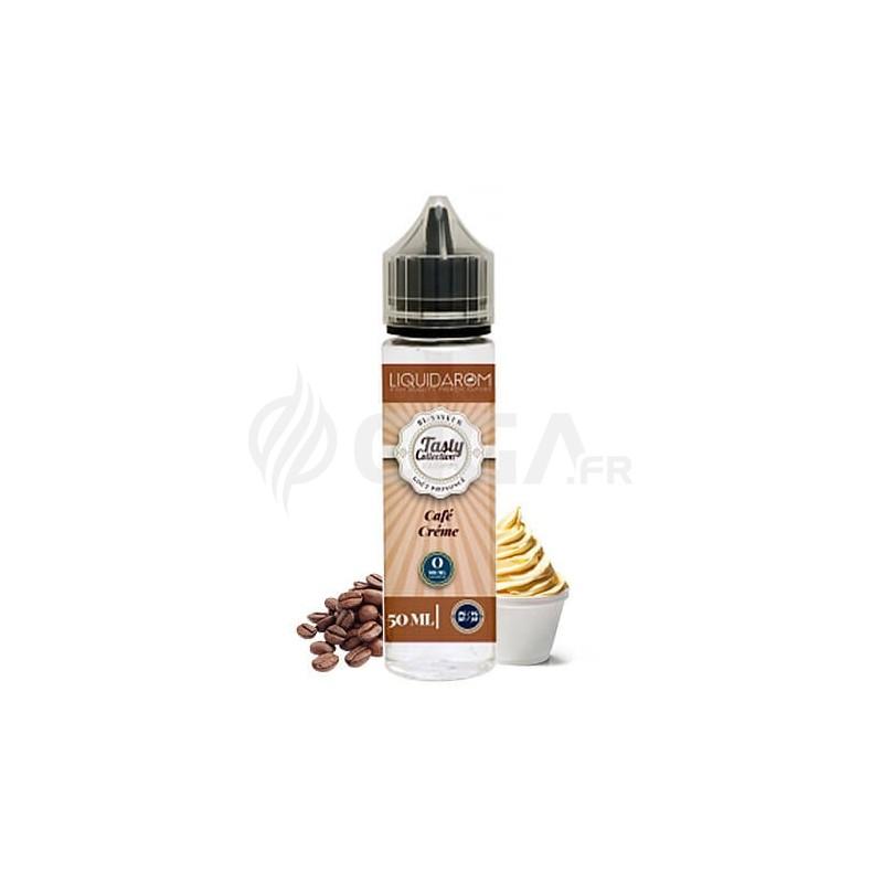 E-liquide Café Crème en 50ml de Tasty Collection de Liquidarom.