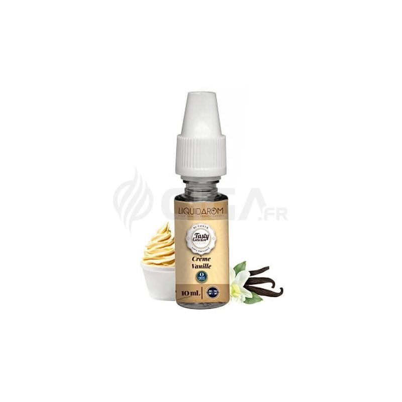 E-liquide Crème Vanille de Tasty Collection de Liquidarom.