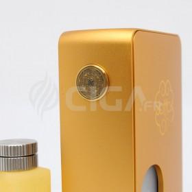 Box BF dorée DotSquonk 100W de Dotmod.