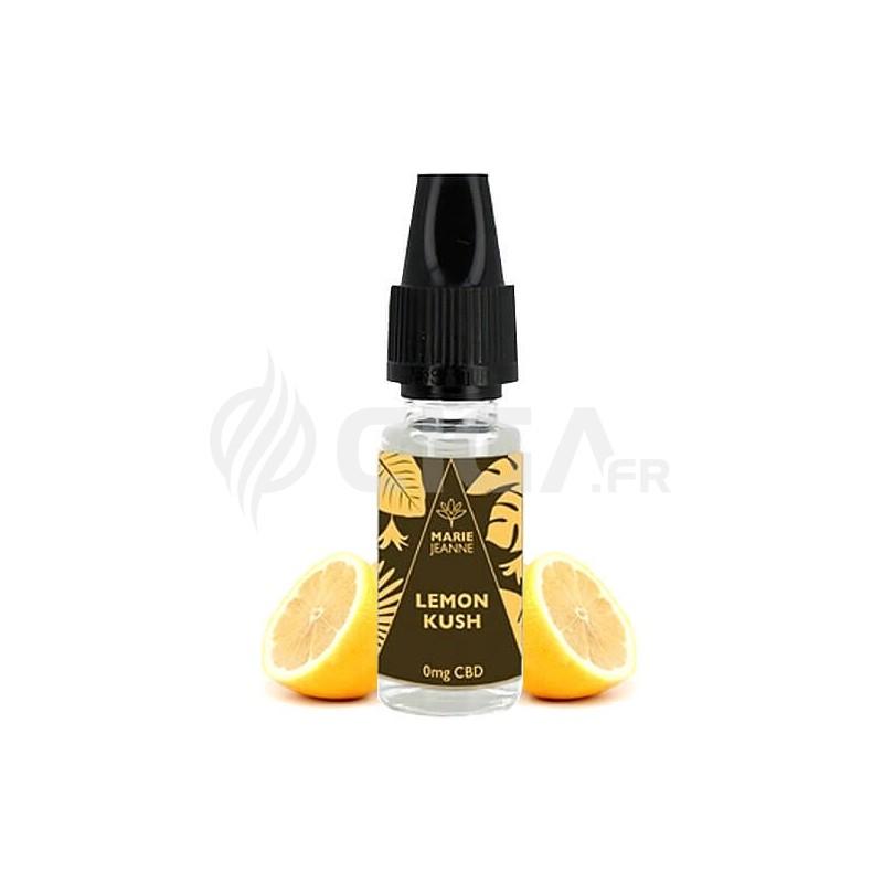 E-liquide au CBD Lemon Kush de Marie Jeanne.