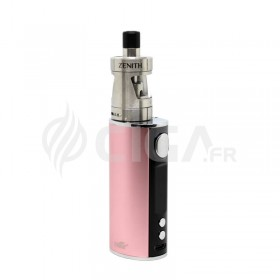 Cigarette électronique iStick T80 rose avec clearomiseur Zenith.