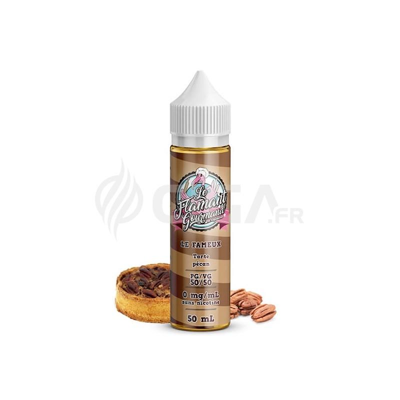 E-liquide Le fameux 50ml de Le Flamant Gourmand de Liquidarom