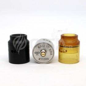 les pièces du Kali V2 RDA de QP Design.