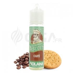 E-liquide Biscuit Café 50ml de La fabrique à biscuits de Solana.