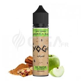 E-liquide Apple Cinnamon Granola Bar en 50ml de Yogi.