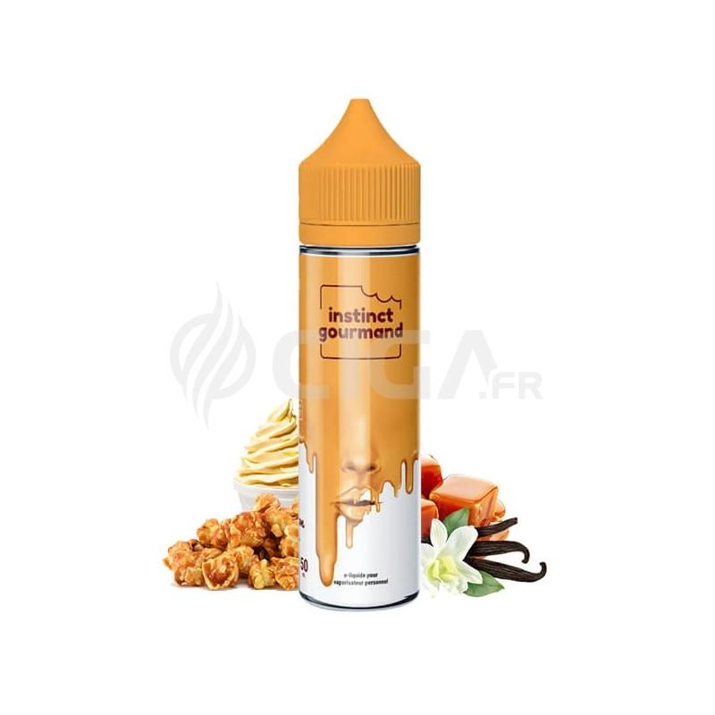 E-liquide Vanilla & Popcorn en 60ml de Instinct Gourmand de Alfaliquid.
