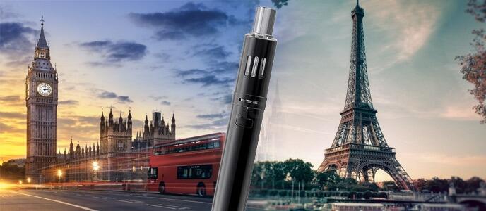 E-cigarette, positions comparées de la France et de la Grande-Bretagne